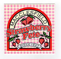 Strawberry Fete card