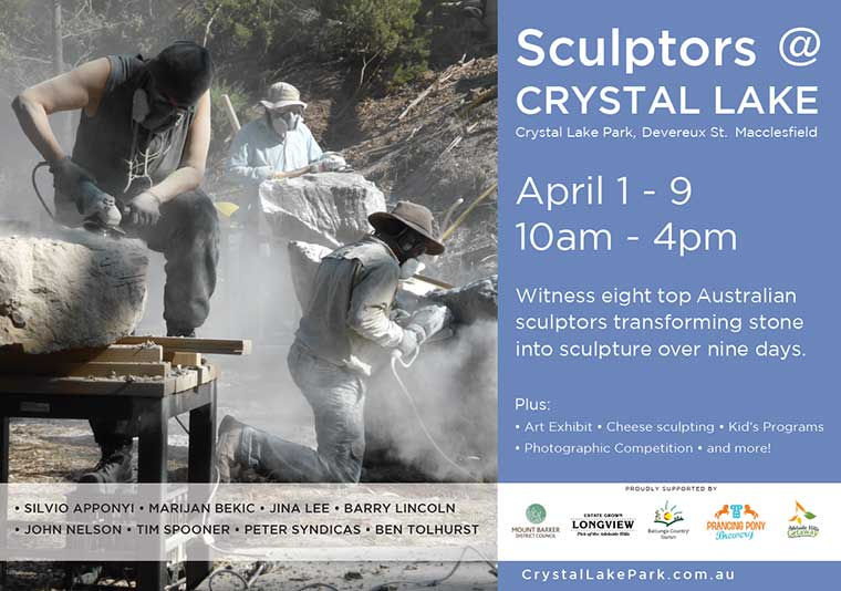 Sculptors at Crystal Lake 2017
