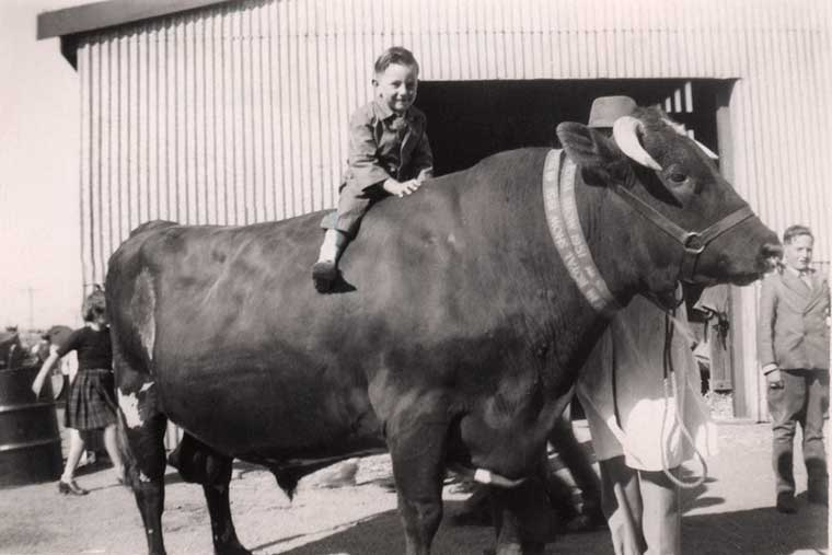 EDMONDS Peter at Royal Show 1951