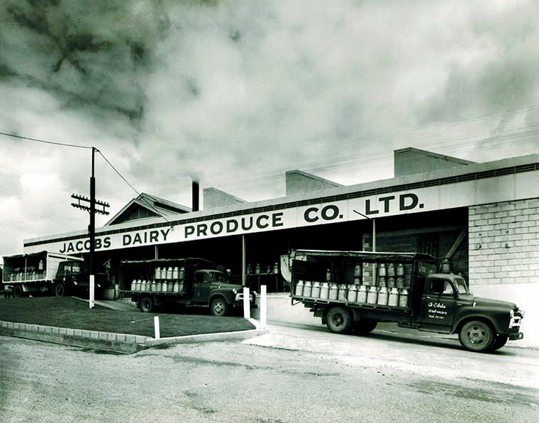 Jacobs Dairy Factory 1960's