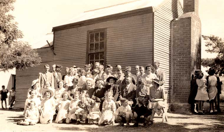 Back to Paris Creek school closing 1948