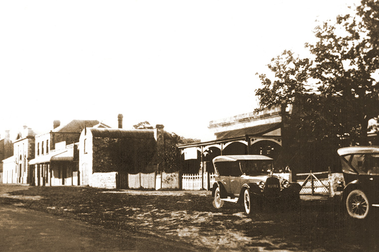 Dancker's house and store about 1930