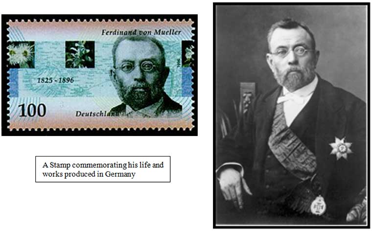 A Stamp commemorating his life and works produced in Germany