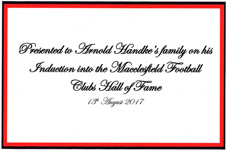 Handke Family invitation