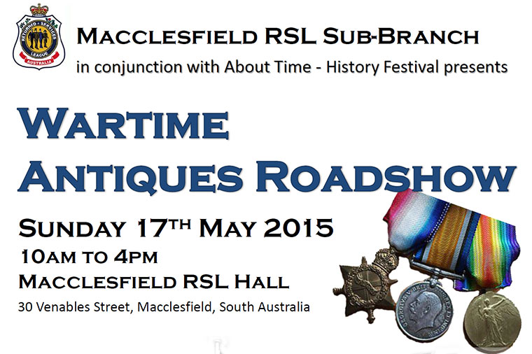 Wartime Antique Roadshow 2015